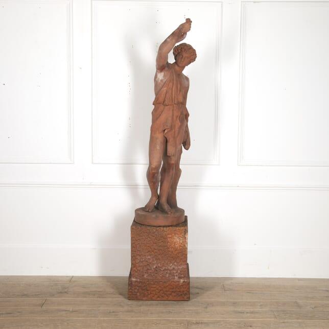 Classical Terracotta Figure by John Matthews GA7816063