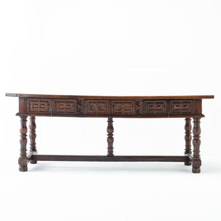 Large Spanish 17th Century Walnut Table CO0616376
