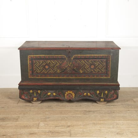 Large 18th Century Indian Marriage Chest CB8815677
