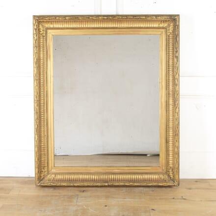 Large 19th Century French Gilt Mirror MI8114878