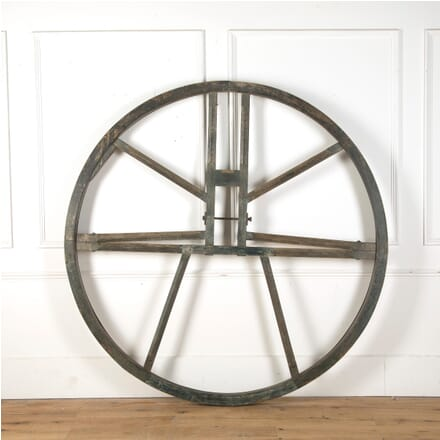 Large 19th Century Bell Tower Wheel GA4310622
