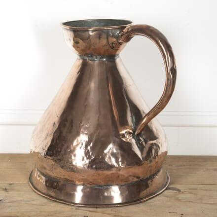19th Century Copper Measuring Jug DA2515608