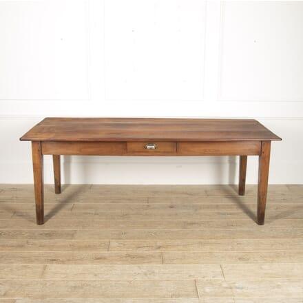 French 19th Century Cherrywood Farmhouse Table TD8815679