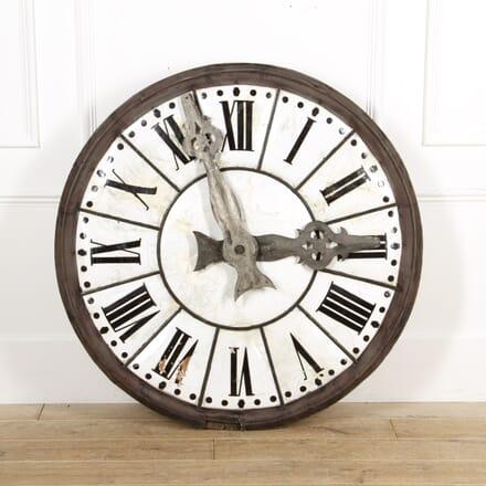 French 19th Century Enamelled Clock DA6016197