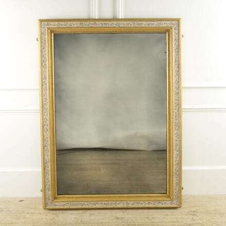 Large 19th Century French Gilt Framed Mirror MI889953