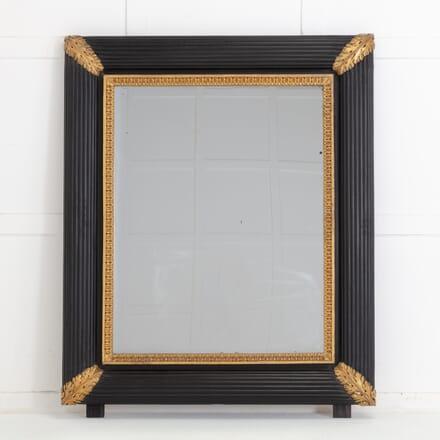 Large 19th Century Italian Ebonised & Gilded Mirror MI0617024