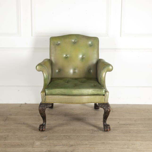 Large 19th Century Library Chair CH2913550