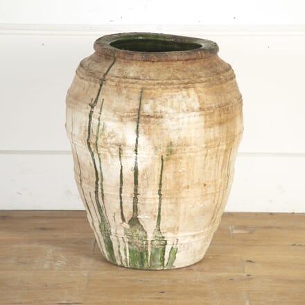 Large 19th Century Spanish Olive Jar GA9013692