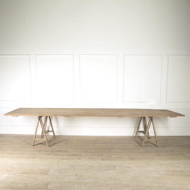 Large 19th Century Vendange Table TD5210448