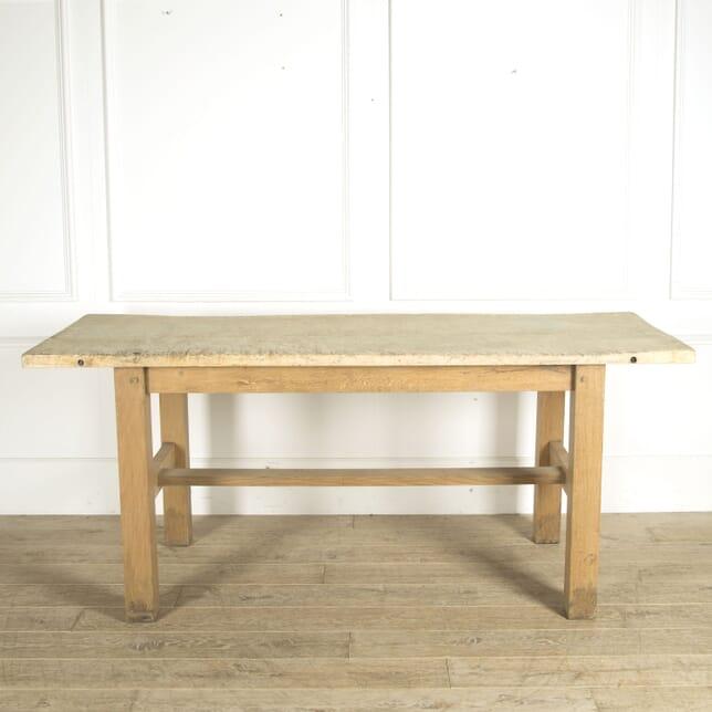 Large 20th Century Kitchen Prep Table TD0910499