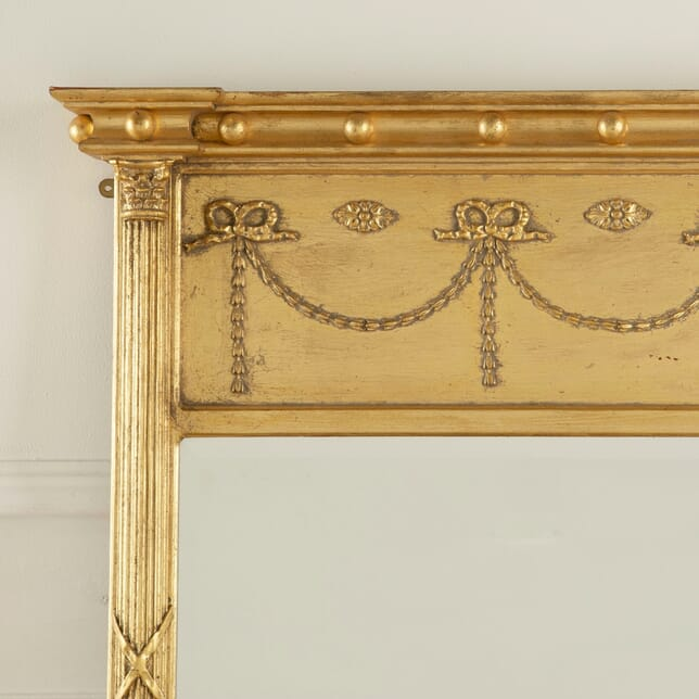 Large Bevelled Gilt Framed Mirror MI8810958