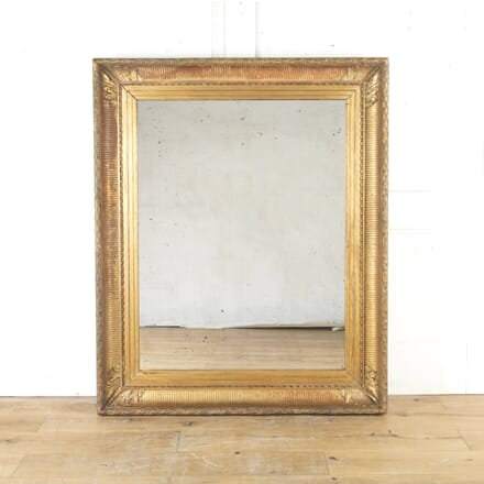Large Early 19th Century French Gilt Mirror MI8114876