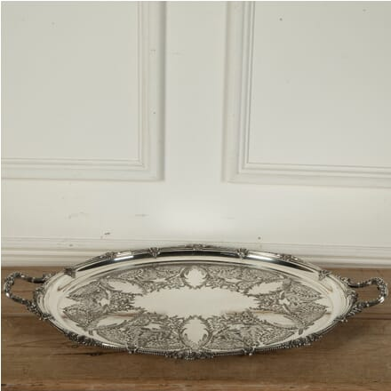 Large Edwardian Butler's Serving Tray DA5811409