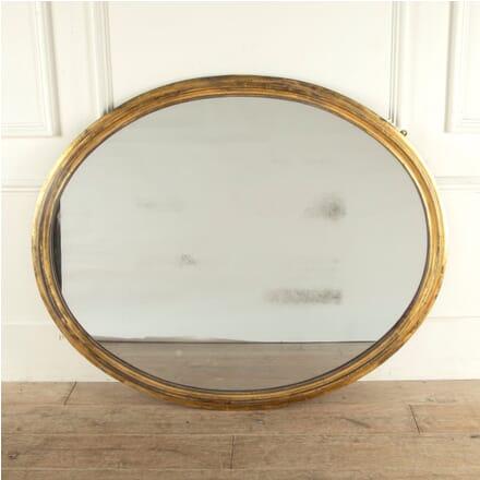 Oval Period Giltwood Mirror MI0512672