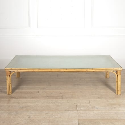 Large French Bamboo Coffee Table CT4516239