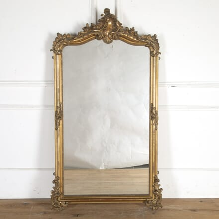 Large French Gilded Mirror MI8014357