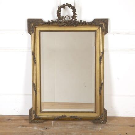 Large French 19th Century Gilt Mirror MI8016667