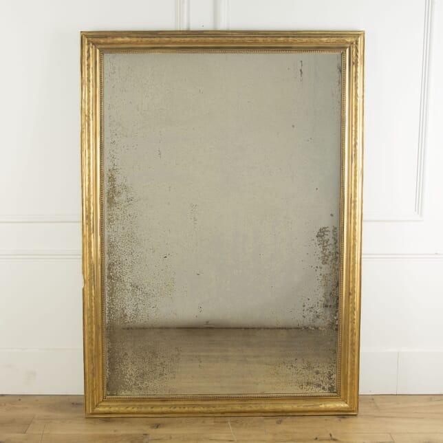 Large French Gilt Mirror MI719676