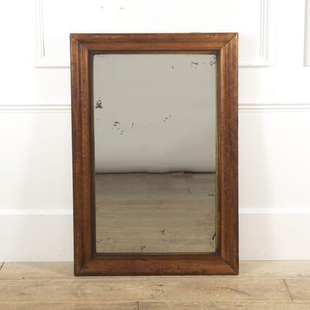 Large French Walnut Framed Mirror MI1516554