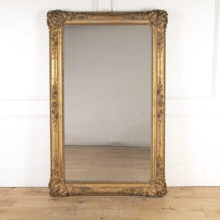 Large 19th Century Gilt Mirror MI8416118
