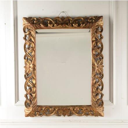 Large Italian 19th Century Gilt Mirror MI8810658