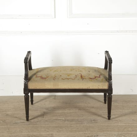 Large Louis XVI Revival Banquette ST1510579