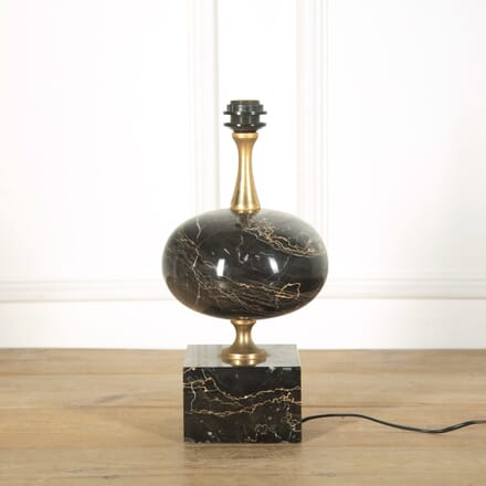 Large Marble Table Light by Maison Barbier LT579048