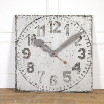Large Metal Clock Face DA7514218