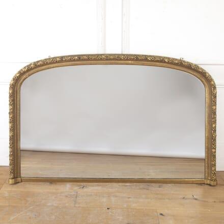 Large 19th Century Overmantle Mirror MI9916745