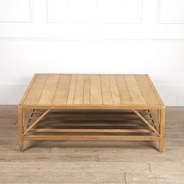 Large Modernist Oak Coffee Table CT0515871