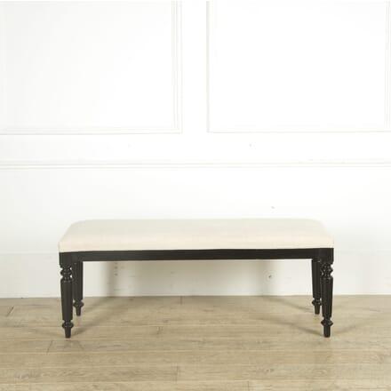 Large Napoleon III Upholstered Stool ST159737