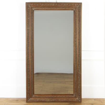 Large 19th Century Oak Mirror MI0317422