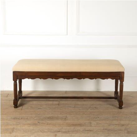 Large Oak Upholstered Bench SB1511561