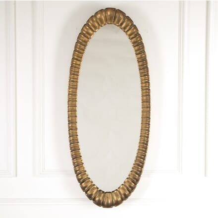 Large Spanish Oval Mirror MI3014424