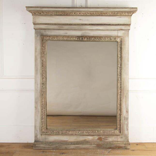 Large Italian Painted 19th Century Mirror MI8716240