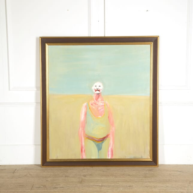 Large Painting of a Clown WD129450