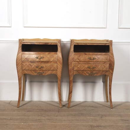 Pair of French Parquetry Nightstands BD4516686