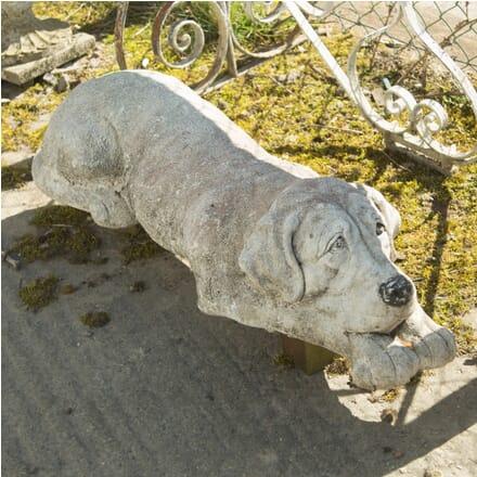 Large Reconstituted Stone Dog DA139990