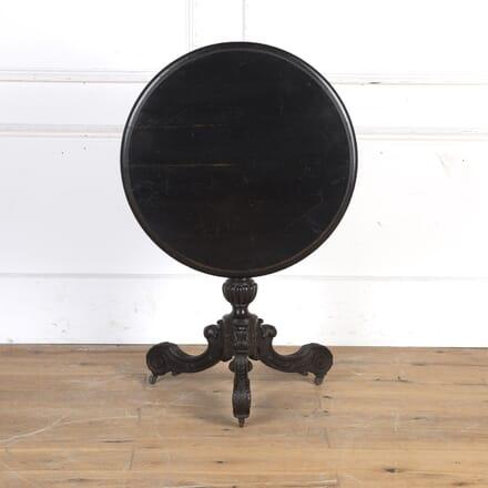 19th Century Ebonised Tilt-Top Table TC7316299