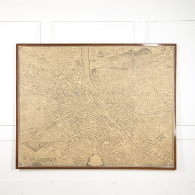 Large Scale Map of Paris WD6015132