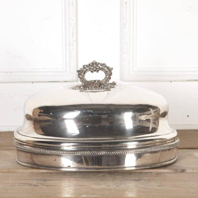 Large Sheffield Plated Meat Dome DA8016023