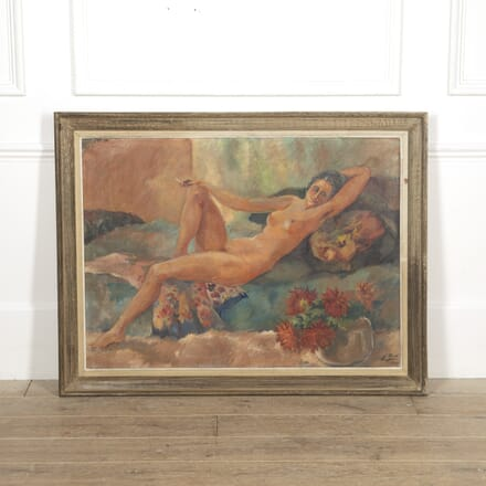 Large Reclining Nude Painting WD1516564