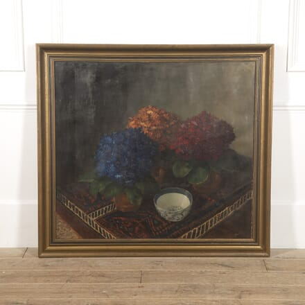 Large Signed Still Life Painting WD1516555