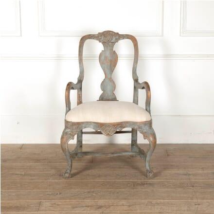 Large Swedish Chair CH6011502