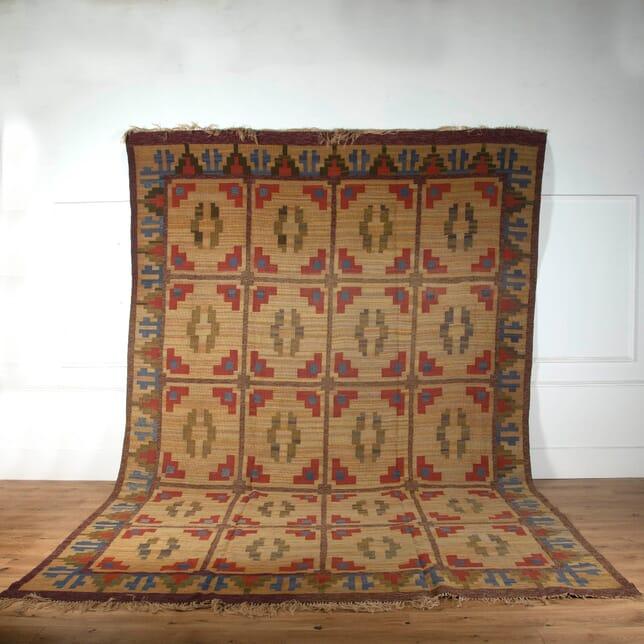 Large Swedish Flatweave Carpet RT2710719
