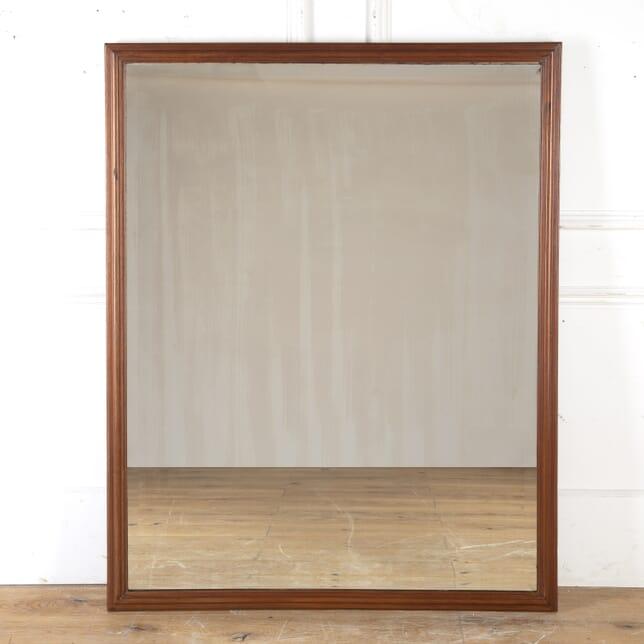 Large Edwardian Mahogany Tailor's Mirror MI4316371
