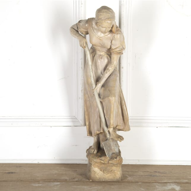 Large Terracotta Figure by Frederic Goldscheider DA8514941