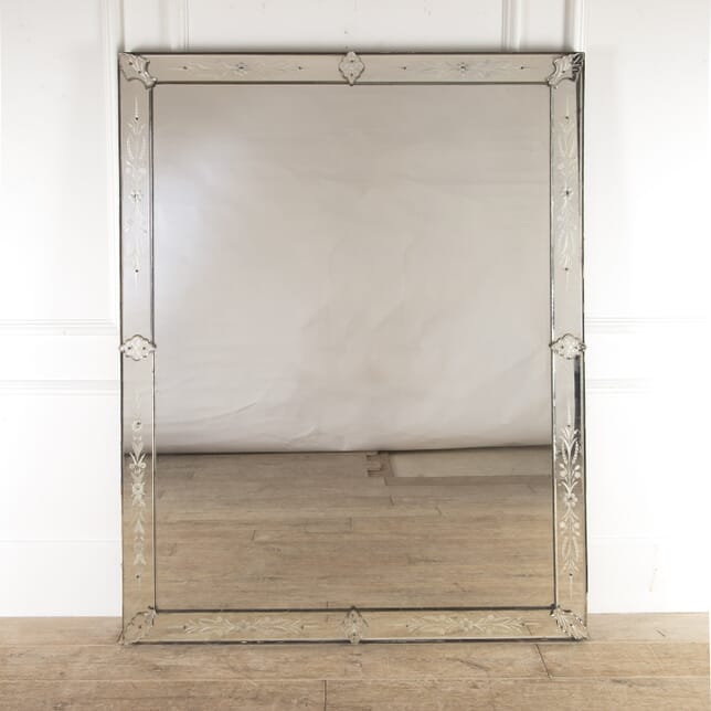 Large Venetian Style Mirror MI4814570