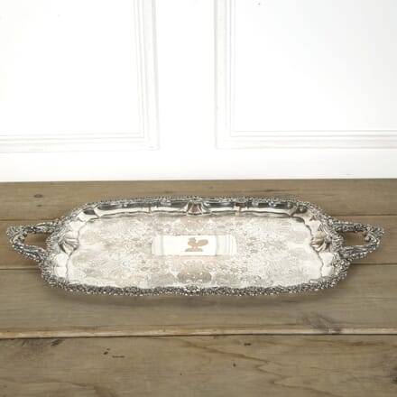 Large Victorian Twin Handled Serving Tray DA589622