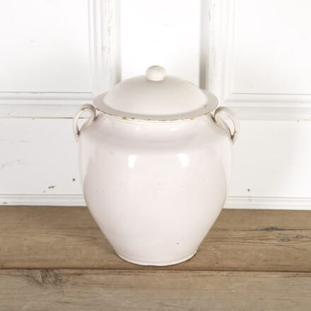 Large Southern French Lidded Confit Jar DA9014380